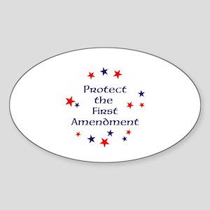 Protect the First Amendment Sticker