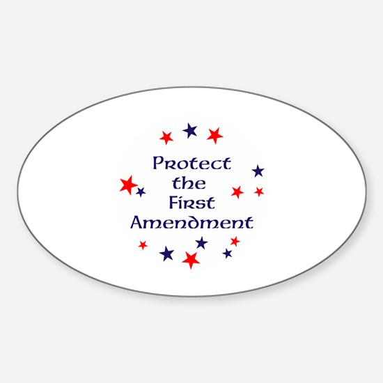 Protect the First Amendment Decal