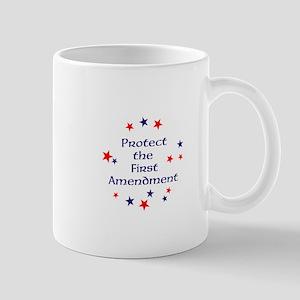 Protect the First Amendment Mugs