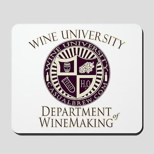Department of WineMaking Mousepad
