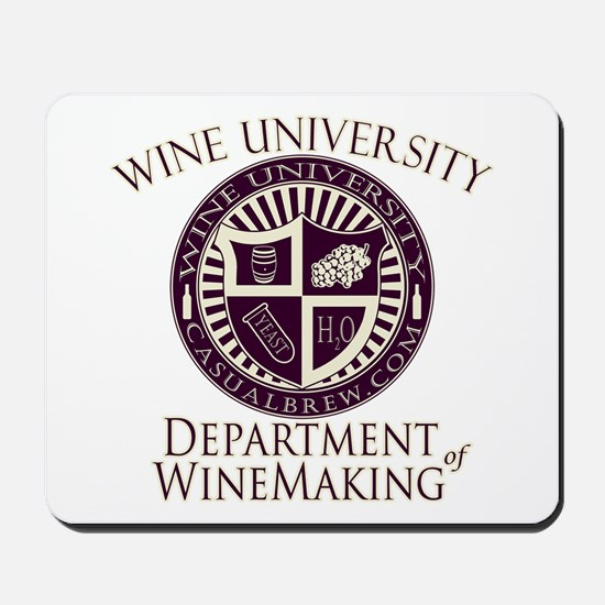 Department of WineMaking Mousepad