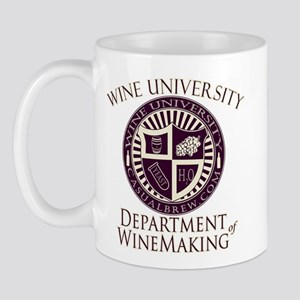 Department of WineMaking Mug