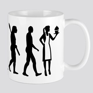 Evolution pastry chef Mugs