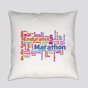 Marathon Womens Everyday Pillow