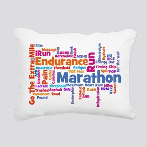 Marathon Womens Rectangular Canvas Pillow