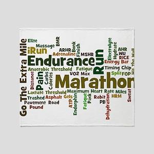 Marathon Throw Blanket