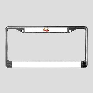 funny kids License Plate Frame