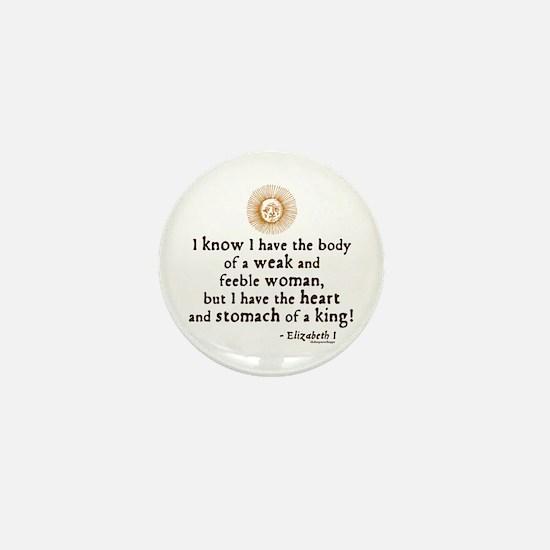 Elizabeth Tilbury Quote Mini Button