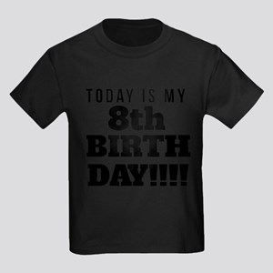 Today Is My 8th Birthday T-Shirt