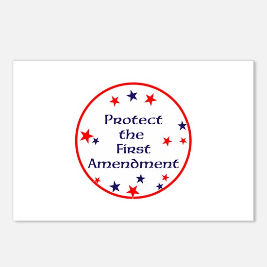 America,Protect the First Amendment, Postcards (Pa