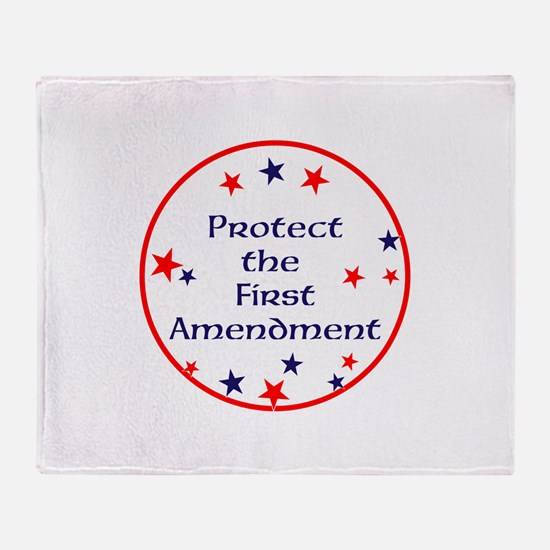 America,Protect the First Amendment, Throw Blanket