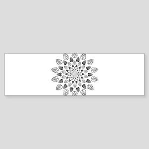 Hop Mandala Bumper Sticker