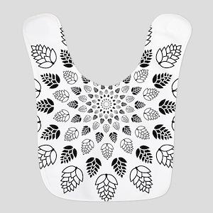 Hop Mandala Polyester Baby Bib