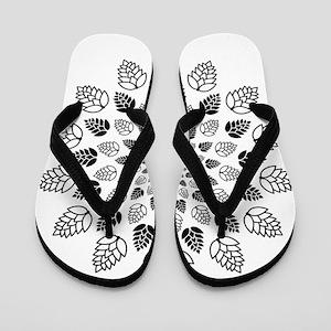 Hop Mandala Flip Flops