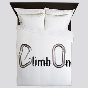 Climb On Queen Duvet