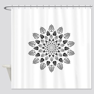 Hop Mandala Shower Curtain
