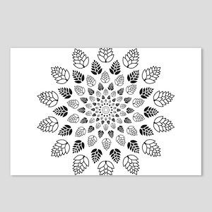 Hop Mandala Postcards (Package of 8)