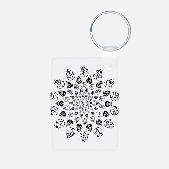 Hop Mandala Keychains