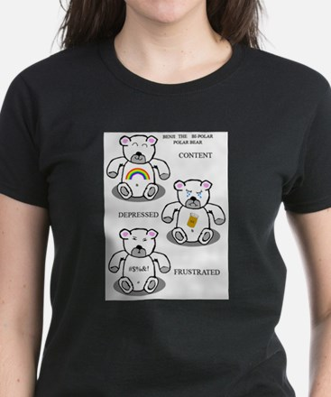 Benji the bi-polar bear T-Shirt