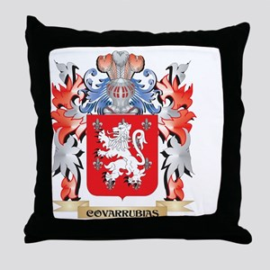Covarrubias Coat of Arms - Family Cre Throw Pillow