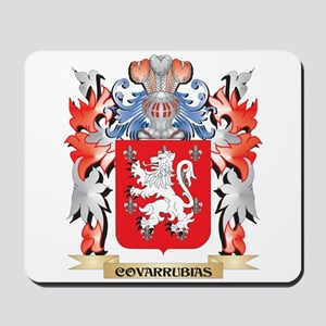 Covarrubias Coat of Arms - Family Crest Mousepad