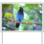 Steller's Jay Yard Sign