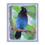 Steller's Jay Throw Blanket