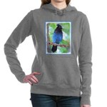 Steller's Jay Women's Hooded Sweatshirt