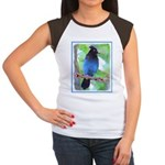 Steller's Jay Junior's Cap Sleeve T-Shirt