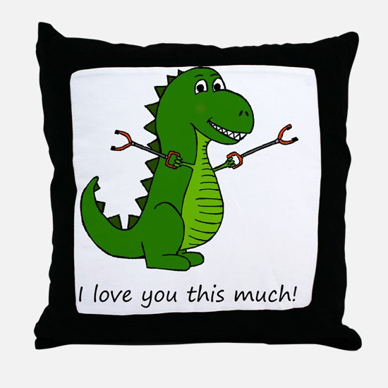 Funny Unstoppable Throw Pillow