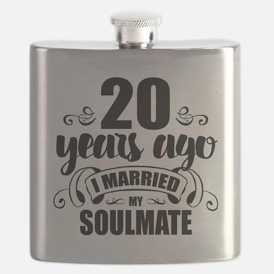 20th Anniversary Flask