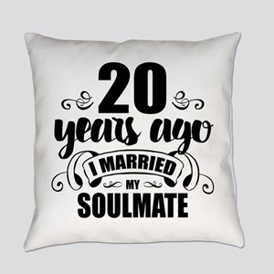 20th Anniversary Everyday Pillow