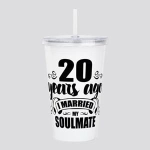 20th Anniversary Acrylic Double-wall Tumbler