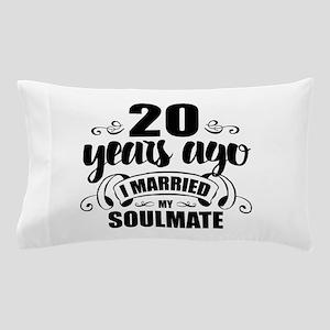 20th Anniversary Pillow Case