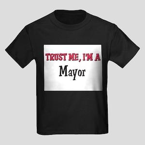 Trust Me I'm a Mayor Kids Dark T-Shirt