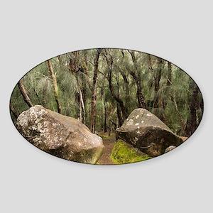 Palaau State Park Molokai Sticker