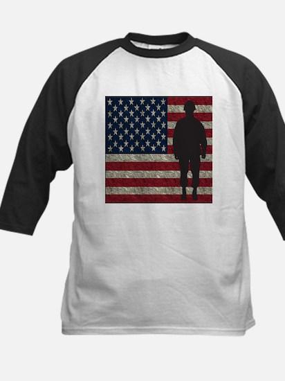 USFlag Soldier Baseball Jersey