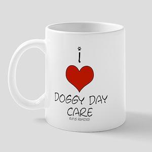 I Love Doggy Day Care Mug
