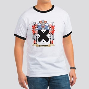 Croatian Coat of Arms - Family Crest T-Shirt