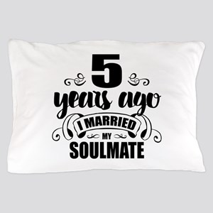 5th Anniversary Pillow Case