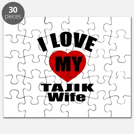I Love My Tajik Wife Puzzle
