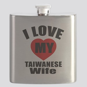 I Love My Taiwanese Wife Flask