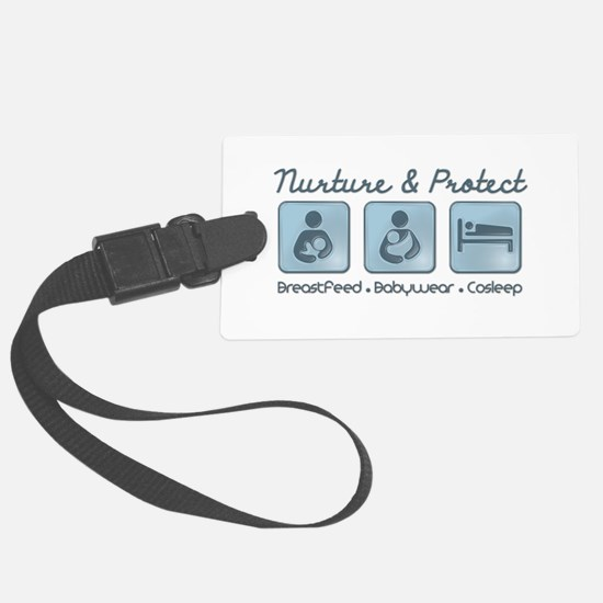 Nurture and Protect Luggage Tag