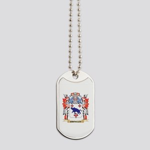 Crowley Coat of Arms - Family Crest Dog Tags