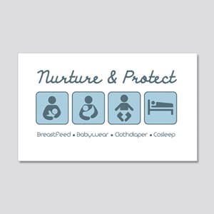 Attachment Parenting 20x12 Wall Decal