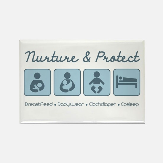 Attachment Parenting Rectangle Magnet (10 pack)