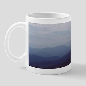 Hazy Appalachian Mountain View Mug