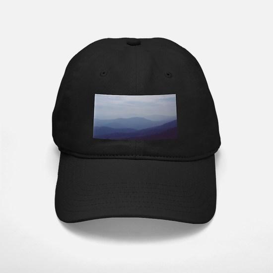 Hazy Appalachian Mountain View Baseball Hat