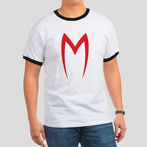Speed Racer Mach 5 Hood Emblem LARGE T-Shirt