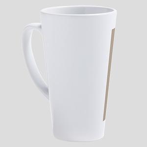 Custom Music Cello 17 oz Latte Mug